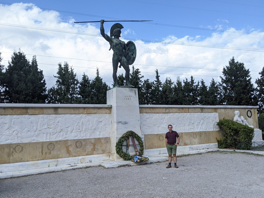 Battle of Thermopylae site